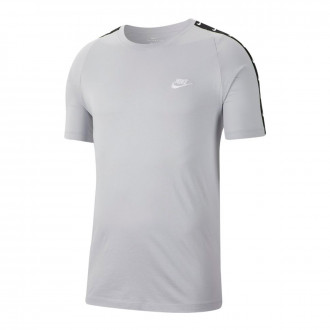 Camisola  Nike NSW Basketball Swoosh 2 Wolf grey-White