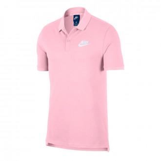 Polo shirt  Nike Sportswear Pink foam-White