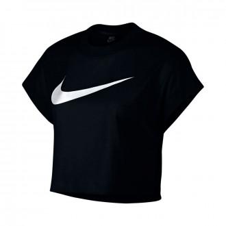 Camiseta  Nike Sportswear NSW Mujer Black-White