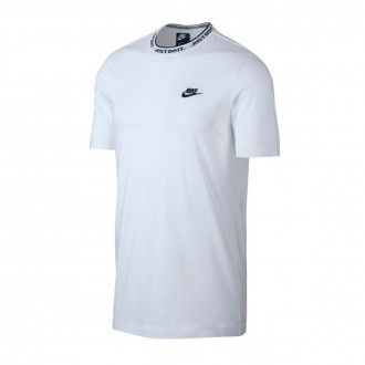 Playera  Nike NSW JDI Top SS Knit White-Black
