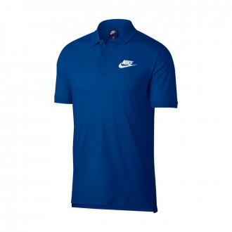 Polo  Nike Sportswear Indigo force-White