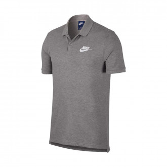 Pólo  Nike Sportswear Dark grey heather-White