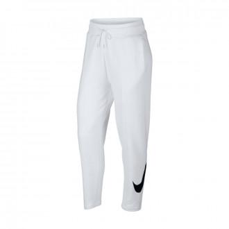 Pantalón largo  Nike Sportswear Mujer White-Black