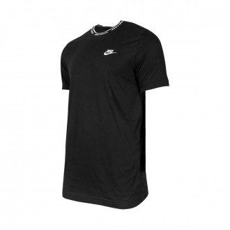 Playera  Nike NSW JDI Top SS Knit Black-White