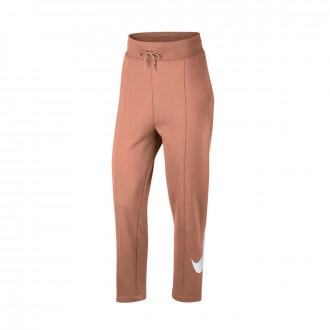 Pantalon  Nike Sportswear Mujer Rose gold-White