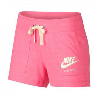 Short  Nike Sportswear Vintage Femme Lotus pink-Sail