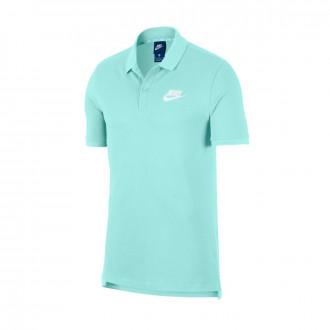 Polo  Nike Sportswear Teal tint-White