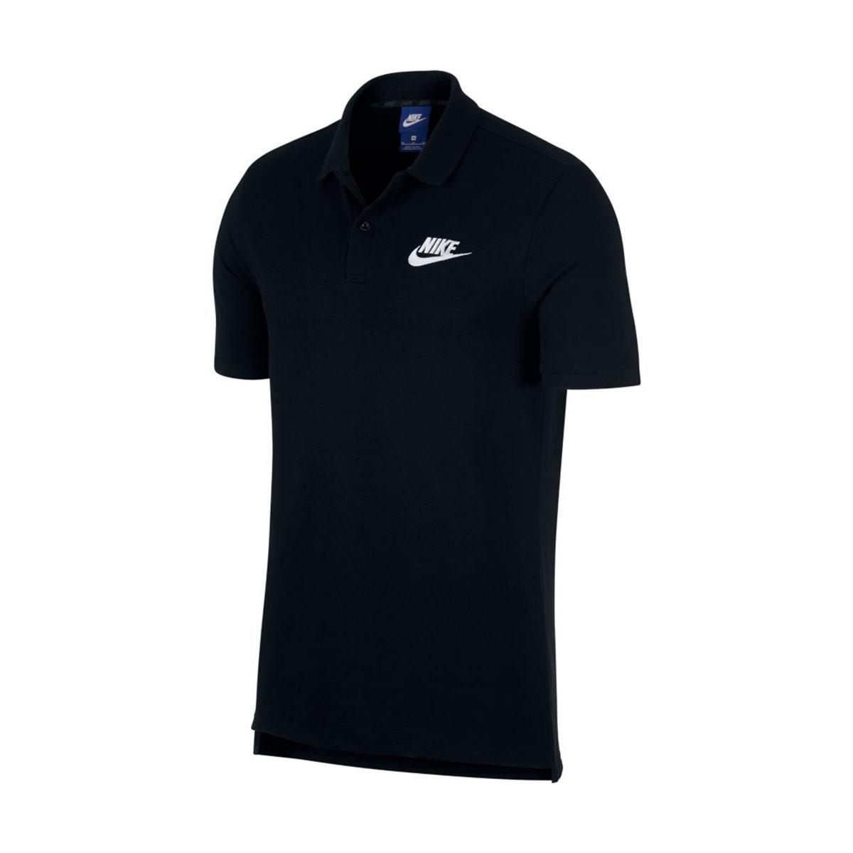 82be1d5d Polo shirt Nike Sportswear Black-White - Football store Fútbol Emotion