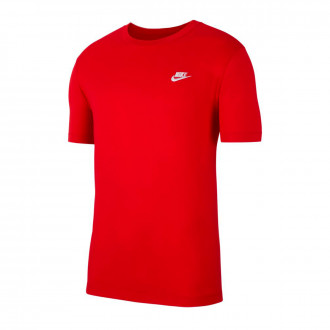 Playera  Nike Sportswear University red-White