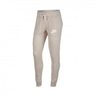 Pantalón largo  Nike Sportswear Vintage Mujer Oatmeal-Sail