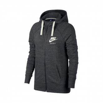 Sweat  Nike Sportswear Hoodie Mujer Anthracite-Sail