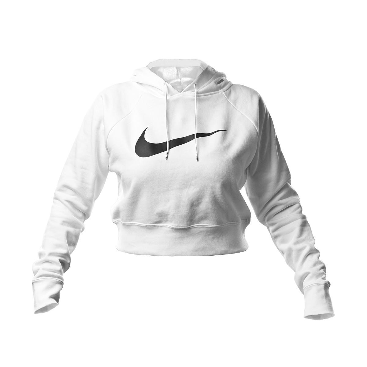 Sudadera Nike NSW Swoosh Hodiee Crop FT Mujer