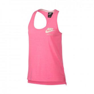 Jersey  Nike Sportswear Vintage Mujer Lotus pink-Sail