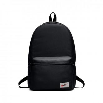 Backpack  Nike Sportswear Heritage Black-Orange blaze