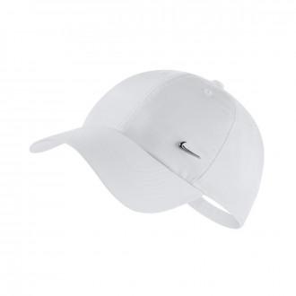 Cap  Nike Sportswear Heritage86 White-Metallic silver