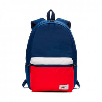 Mochila  Nike Sportswear Heritage Blue void-University red-Wheat