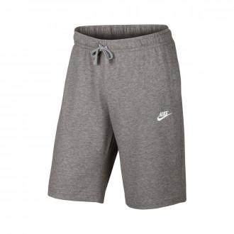 Calções  Nike Sportswear Short Dark grey heather-White