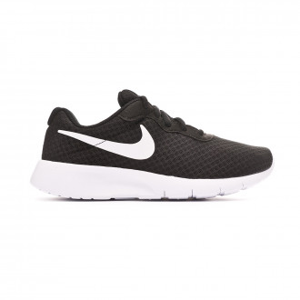 Zapatilla  Nike Tanjun GS Niño Black-White-White