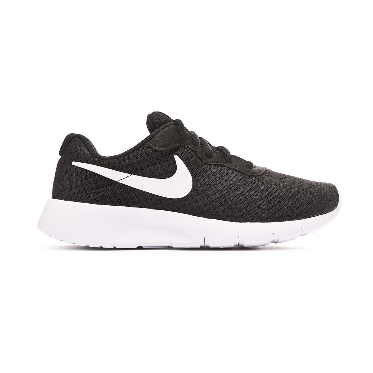 Tenis Nike Tanjun GS Niño Black White White Tienda de