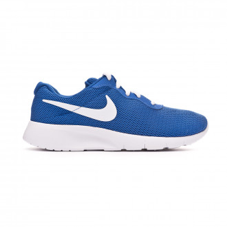 Zapatilla Nike Tanjun GS Niño Game royal-White