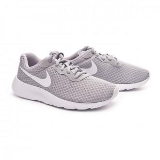 Zapatilla  Nike Tanjun GS Niño Wolf grey-White-White
