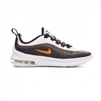 Trainers  Nike Kids Air Max Axis  White-Total orange-Obsidian