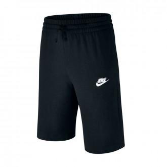 Short  Nike Sportwear Niño Black-White