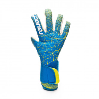 Glove Reusch Pure Contact II G2 SMU Blue-Yellow