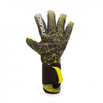 Glove Reusch Pure Contact G3 SpeedBump Negro-Verde-Amarillo