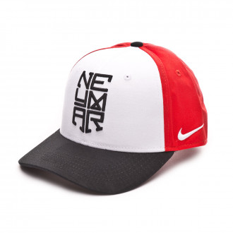 Gorra  Nike Neymar Jr CL99 Niño White-Black