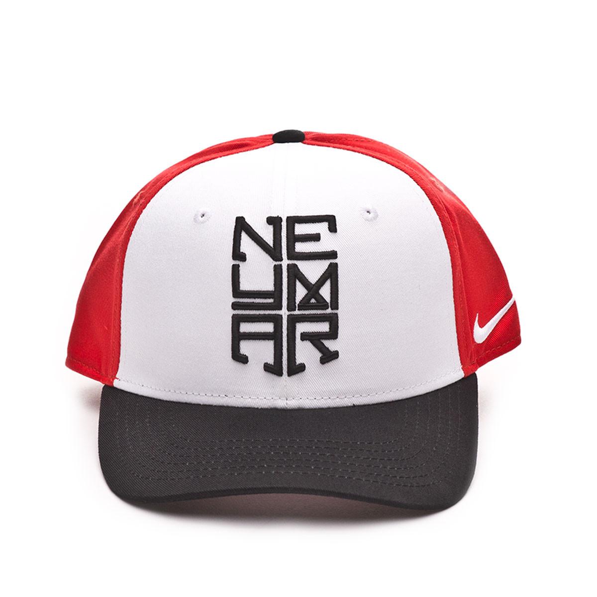 Gorra Neymar Jr CL99 Niño White-Black