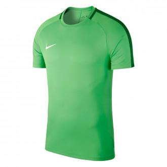 Camiseta  Nike Academy 18 Training m/c Niño Light green-Pine green-White