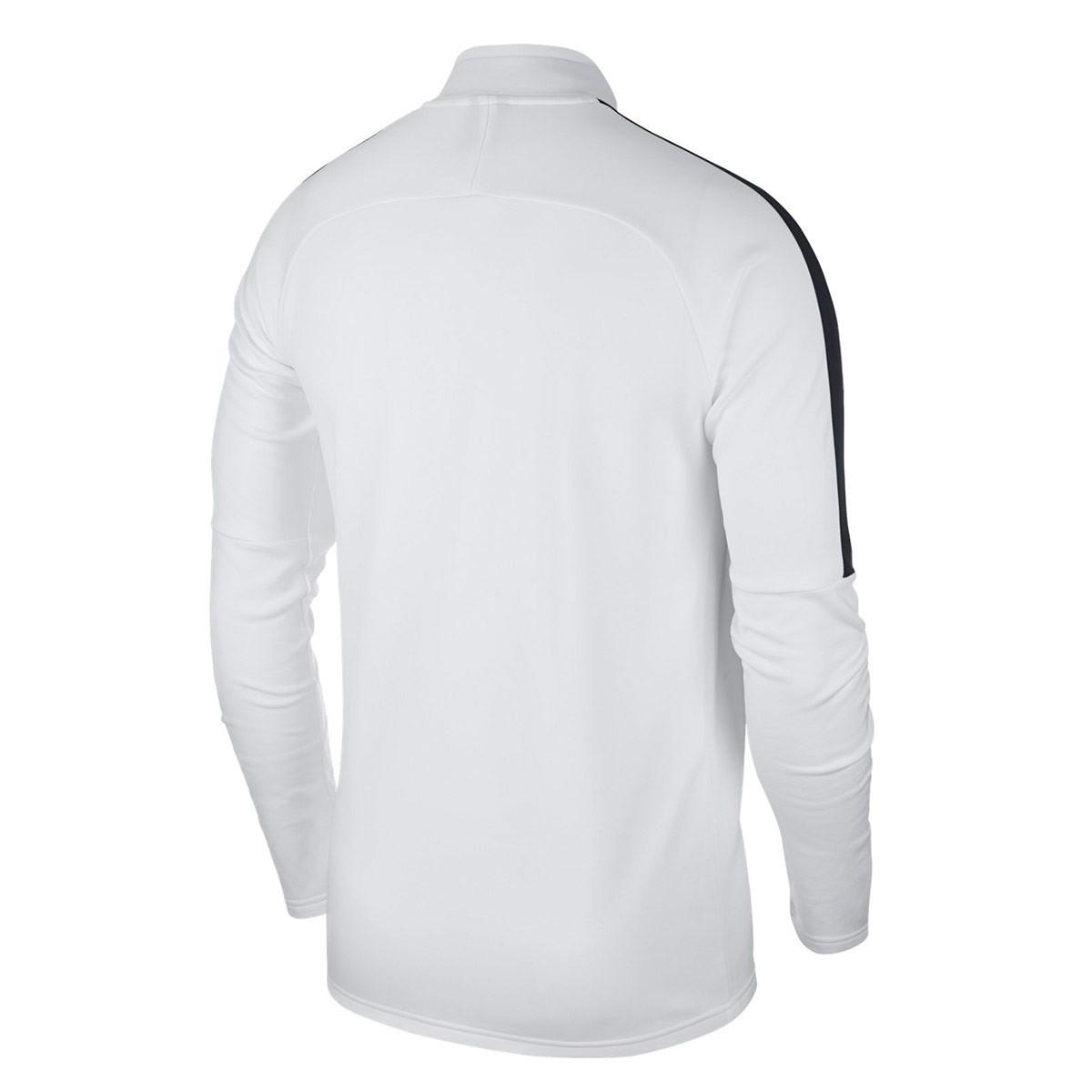3bf2f347238 Sweatshirt Nike Kids Academy 18 Drill White-Black-Black - Football store  Fútbol Emotion