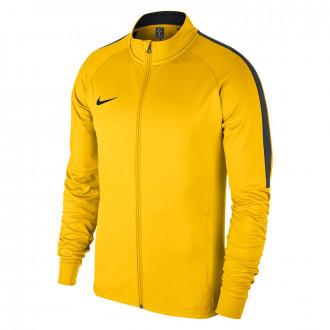 Casaco Nike Academy 18 Knit Crianças Tour yellow-Anthracite-Black