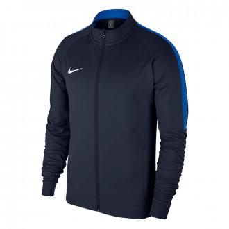 Casaco Nike Academy 18 Knit Crianças Obsidian-Royal blue-White