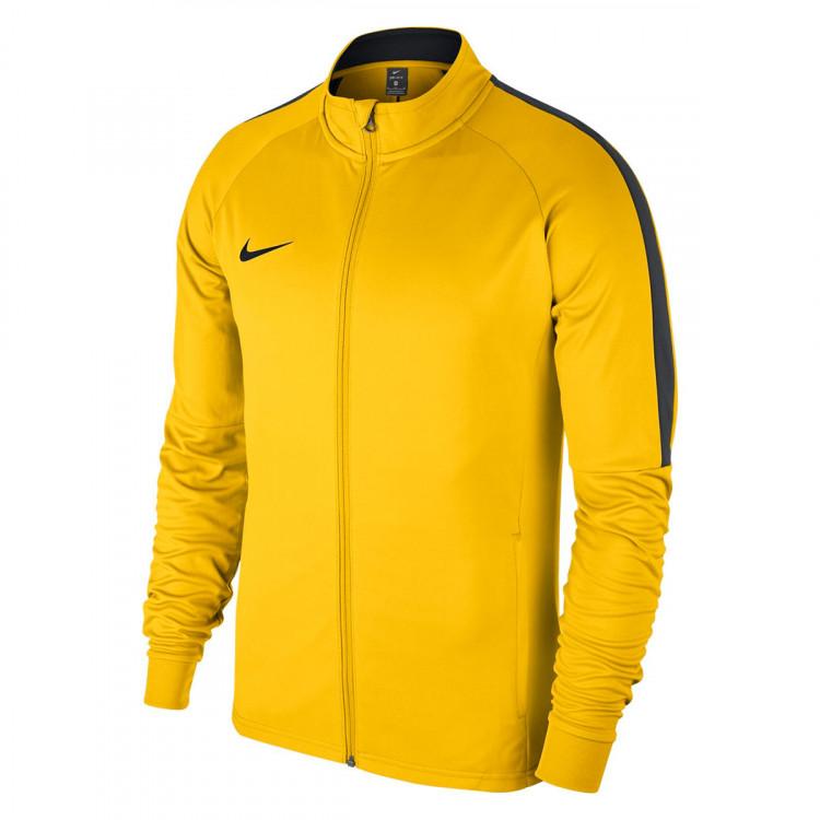 distorsión Bigote esposas  Jacket Nike Academy 18 Knit Tour yellow-Anthracite-Black - Football store  Fútbol Emotion