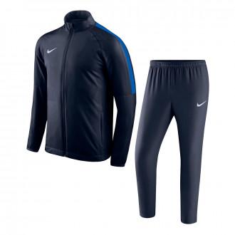 Fato de treino Nike Academy 18 Woven Crianças Obsidian-Royal blue-White