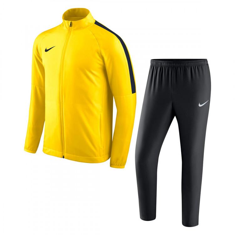 vendita di liquidazione consegna gratuita nuovi speciali Tuta Nike Academy 18 Woven Tour yellow-Black-Anthracite - Negozio ...