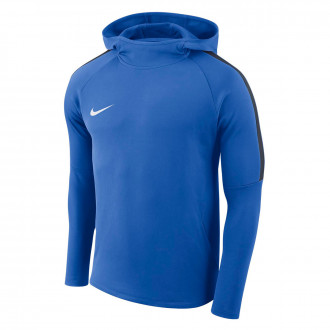 Sweatshirt  Nike Academy 18 Hoodie Crianças Royal blue-Obsidian-White