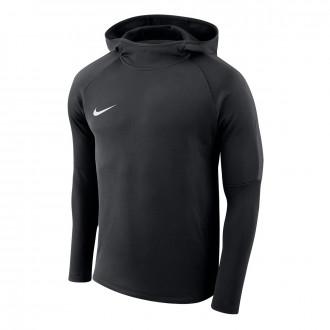 Sweatshirt  Nike Academy 18 Hoodie Crianças Black-Anthracite-White