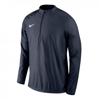 Sweatshirt Nike cortavientos Academy 18 Drill Niño Obsidian-White
