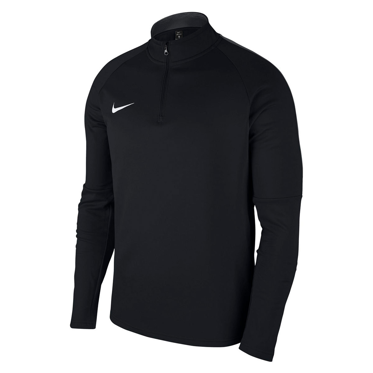 a3ee36bcdf8 Sweatshirt Nike Academy 18 Drill Niño Black-Anthracite-White ...
