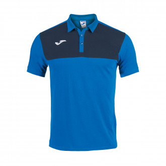 Polo shirt  Joma Winner m/c Royal-Navy blue