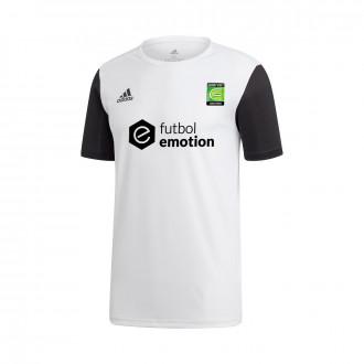 Camisola  adidas Estro 19 m/c Primera Equipación COERVER White-Black