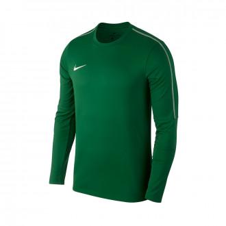 Sudadera  Nike Park 18 Drill Niño Pine green-White