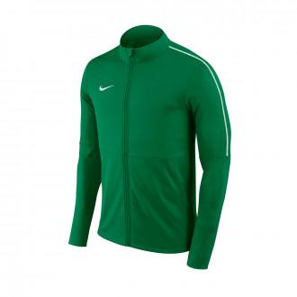 Casaco Nike Park 18 Knit Niño Pine green-White