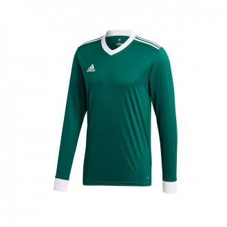 Camisola  adidas Tabela 18 m/l Collegiate green-White