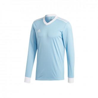 Camisola  adidas Tabela 18 m/l Clear blue-White