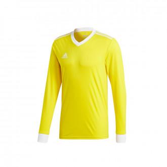 Camisola  adidas Tabela 18 m/l Yellow-White