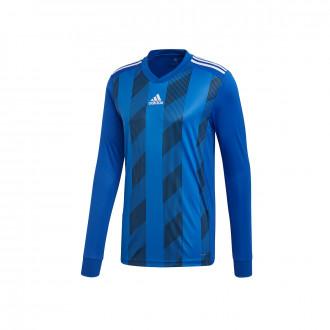 Camisola  adidas Striped 19 m/l Bold blue-White